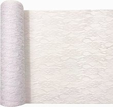 30cm x 10Yards Vintage Hard Lace Roll Netting