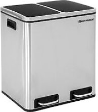 30L Recycle Bin Trash Can with Inner Classified