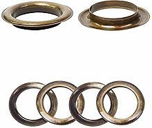 30mm Bronze Eyelets Rings with Washers - Perfect
