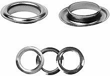 30mm Gunmetal Black Eyelets Rings with Washers -