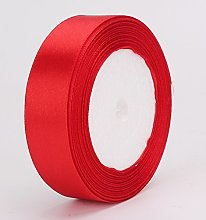 30mm Satin Ribbon Red in 22-25 Meters Full roll