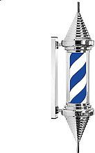 31.5in Barber Shop LED Barbers Pole Rotating Wall