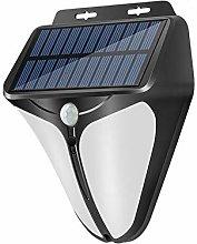 31LED Solar Powered Light Wall Lamp Motion Sensor