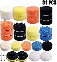 31Pcs/Set Car Accessories Polishing Wheel Pad Kit