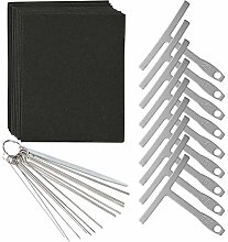 32 Pcs Guitar Luthier Tools Kit Including 14 Sizes