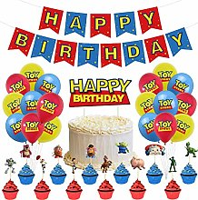 32PCS Toy Story Birthday Party Supplies ZSWQ-Toy