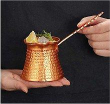 330ML Turkish Coffee Pot Cip Copper Plated Coffee