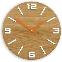 33cm Wall Clock Zipcode Design Colour: