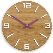 33cm Wall Clock Zipcode Design Colour: