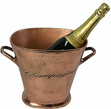 34cm Oval Ice Bucket Cooler Champagne Wine
