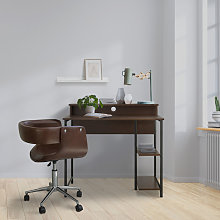 35' Wooden Home Office Study Computer Desk &