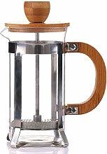 350ml Bamboo Cover Coffee Pot Plunger Tea Maker