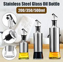 350ml Home Oil Spray Glass Bottle Storage Spice