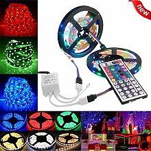 3528 SMD RGB Color Changing Indoor LED Strip Light