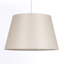 35cm Linen Empire Pendant Shade Ebern Designs