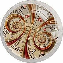 35mm Cabinet Knobs Old Clock Watch Clock Round