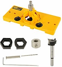 35mm Concealed Hinge Hole Saw Jig, Drilling Guide