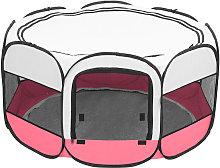36' Small Pet Playpen Tent, Portable Foldable