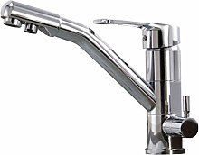 360 ° Rotatable Stand Jruia 3-Way Kitchen Faucet