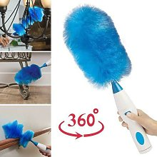360 ° rotation Adjustable electric spring duster