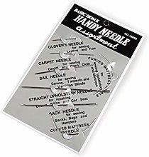36card Nickel Home Needle Assortment - Set of 7,