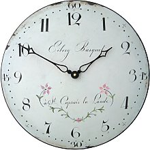 36cm Delicate French Antique Dial Wall Clock Roger