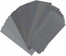 36pcs Sandpaper Waterproof Abrasive Paper Sand