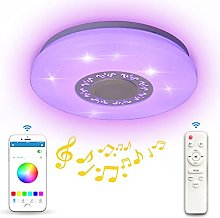 36W LED Ceiling Light Dimmable RGB Color Change,