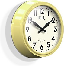 37cm Wall Clock Newgate Colour: Yellow