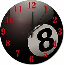 38 x 38 CM Non-Ticking Wall Clock Silent Clock