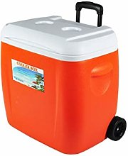 38L Cooler Box With Wheels, Multifunction