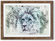 'A Leopard'  - Picture Frame Graphic Art