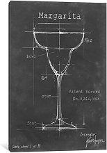 'Barware Blueprint VI' Graphic Art on