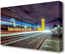 'Big Ben Speed of Light 1 London' Graphic