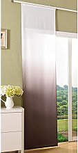 'Box Panel Curtain Opaque Colours with Panel