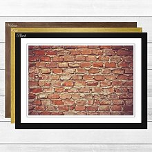 'Brick Wall 2' Framed Photographic Print