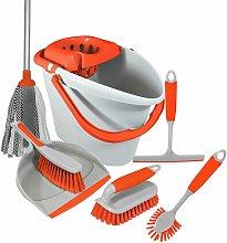 'Brights' Kitchen Bundle Set Mop Brush