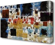 'Building Blocks' Painting Print on Canvas
