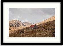 'Camban' Framed Print & Mount, 54.5 x