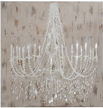 'Chandelier' Painting Print on Canvas in