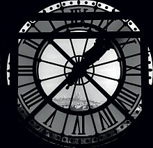 'Clock Face, Paris' Framed Photographic