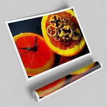 'Clock Work Orange' - Unframed Photograph