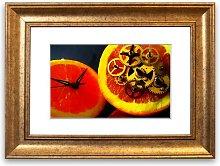 'Clock Work Orange Cornwall' Framed