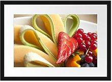 'Colourful Fruit Bowl' Framed Poster East