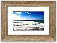 'Cool Beach Cornwall' Framed Photographic