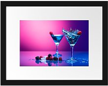 'Cool Cocktails' Framed Photographic Print