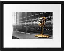 'Cool Music Studio' Framed Photographic