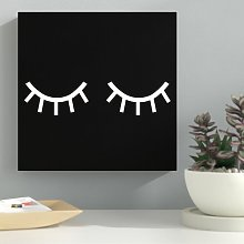 'First Glance' - Wrapped Canvas Graphic