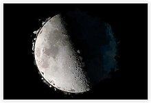 'First Quarter of the Moon' - Unframed