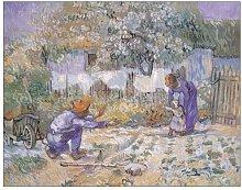 'First Steps' by Van Gogh Art Print East